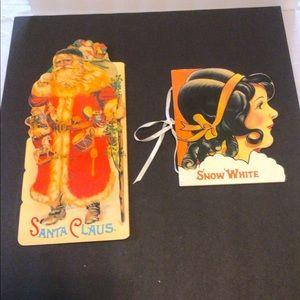 (2) Retro Ornate Story books